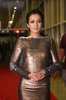 Actress Catherine Tresa in Golden Skin Tight Backless Gown at Gautam Nanda music launchi ~ Exclusive Celebrities Galleries 083.JPG