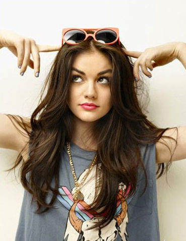 Lucy Hale (1989): American actress