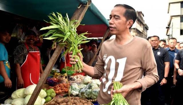 Kunjungi Mal, Jokowi Dinilai Kurang Perhatian ke Pasar