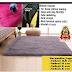 karpet rasfur 150 x 200 x 3 cm / karpet bulu / karpet lantai. anti slip tidak rontok