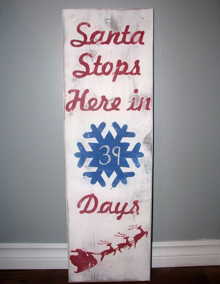 Hand painted signs are done by request in house. Any design you find on our site can be ordered...