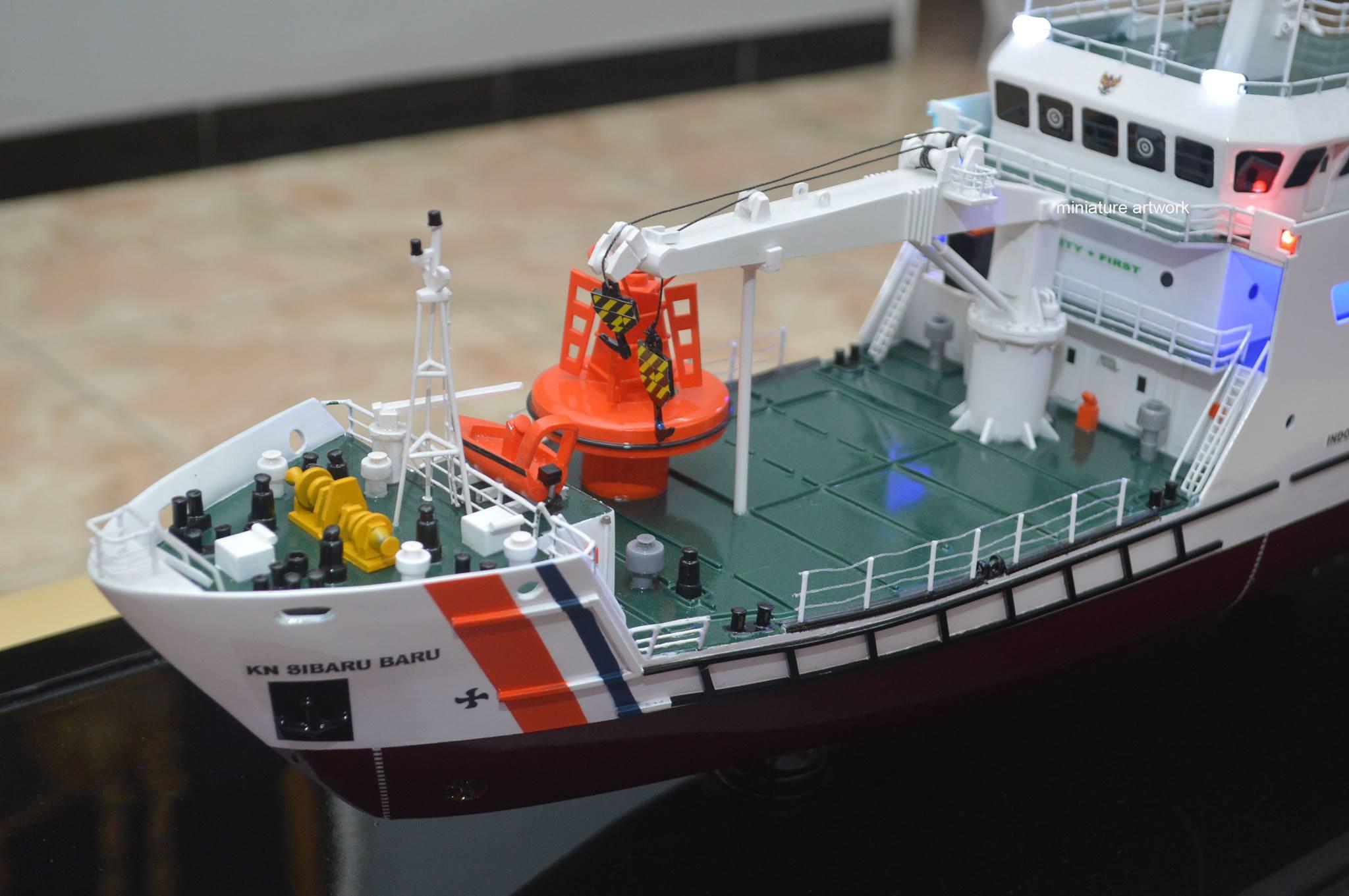 desain sketsa miniatur kapal kn sibaru baru navigation ship terbaik