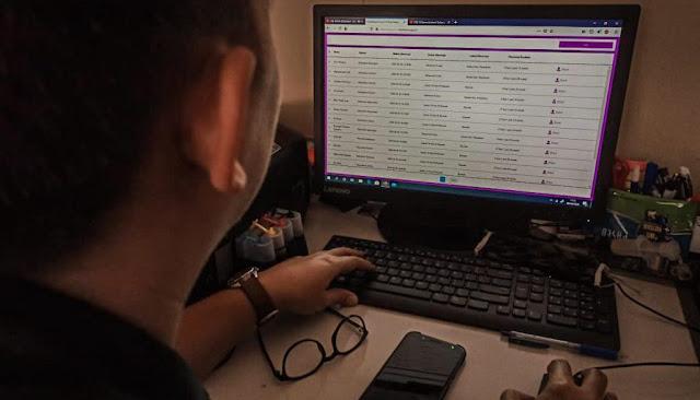 Walikota Kediri Abdullah Abu Bakar meluncurkan website Observasi Corona Kota Kediri