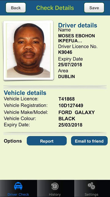 Photo: Nigerian taxi driver dies in Dublin after attack by suspected thieves