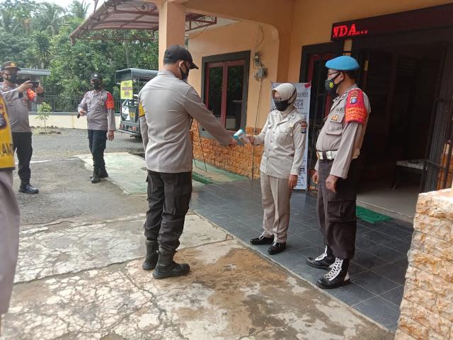 Polsek Dusun Timur Laksanakan Pendisiplinan Internal