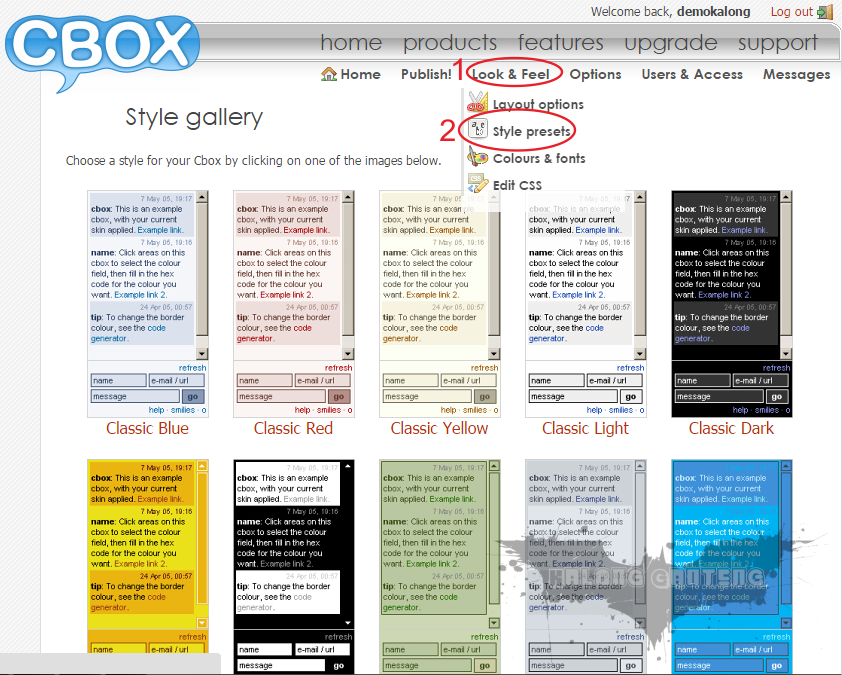 Cara Memasang Chat Box Keren Auto Hide di Blog Screenshot