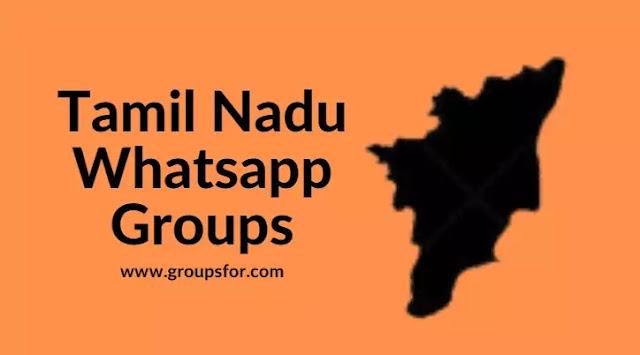 Tamil Nadu Whatsapp Groups