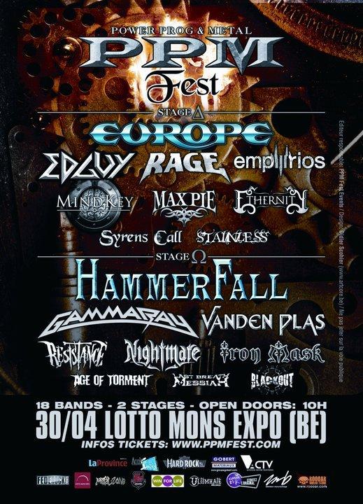 Hammerfall Setlist