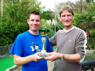 Richard Gottfried and Chris Harding, the 2011 Weymouth Open doubles champions