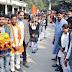 एबीवीपी ने अमर शहीद कलश यात्रा निकाल देशभक्ति का दिया संदेश