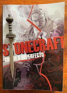 Portada del libro Stonecraft: Círculo imperfecto, de Víctor M. Ánchel