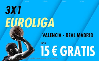 Suertia promo euroliga Valencia vs Real Madrid 19-2-2021