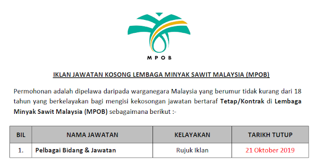 lembaga minyak sawit malaysia 2019