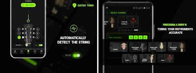 Aplikasi Guitar Tunio