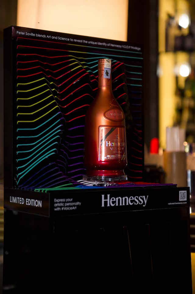 The limited edition Hennessy V.S.O.P Privilège Collection 6 bottle