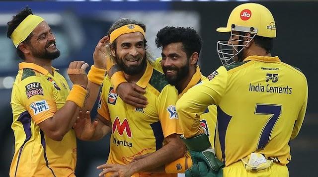 IPL 2021: CSK ने अंतिम ओवर में बनाए 37 रन; रवींद्र जडेजा ने 5 छक्के लगाए।