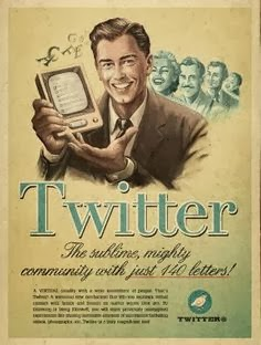 twitter nostalgic ad by easy marketing a2z