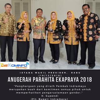 Pemkab Indramayu Raih Anugrah Parahita Ekapraya 2018