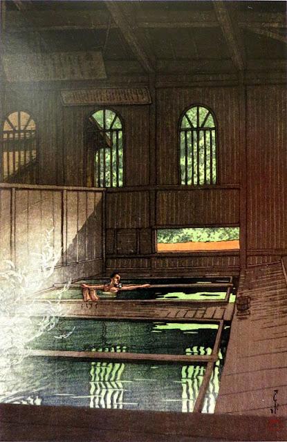 群馬の秘湯、法師温泉!昭和8年に描かれた新版画から全く変わっていない風景【a】