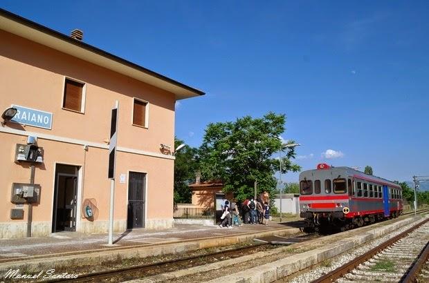 Raiano, stazione