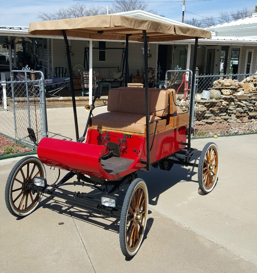 Daily Turismo: Check Out Those Dubs: 1903 Oldsmobile