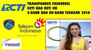 Transponder Frekuensi Channel RCTI Telkom 4 Measat 3a Ses9 C-Band dan Ku-Band Terbaru Agustus 2020 K-Vision, Nex Parabola, dan Nusantara HD