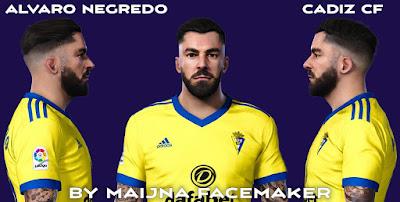 PES 2021 Faces Alvaro Negredo by Maijna