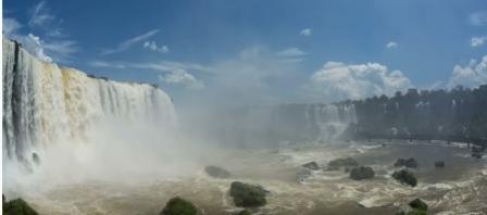 tempat wisata terindah di dunia  IGUAZO FALLS