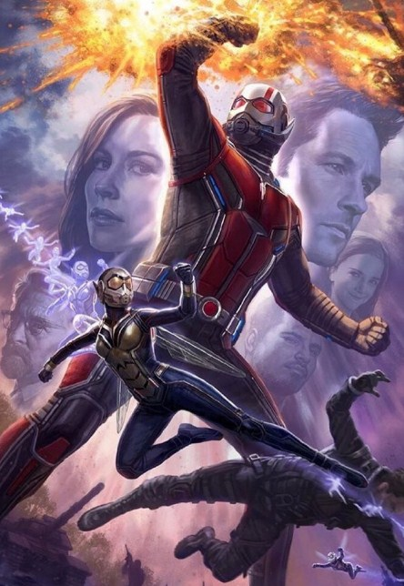 Sinopsis, Pemain, Review, Trailer Ant-Man and the Wasp (2018)