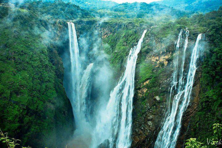 Jog Falls Hd Wallpaper Jog Falls Sagara Karnataka Incredible India Must See