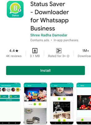 Whatsapp Business Status Saver