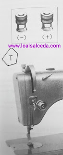 Regular presion máquina de coser