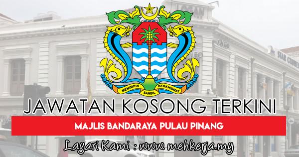 Jawatan Kosong Terkini 2018 di Majlis Bandaraya Pulau Pinang
