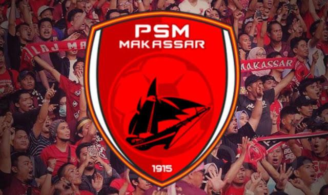 """suporter dar PSM """"the macz man"""" dan logo PSM Makassar"""