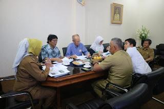 Kementrian PUPR Tawarkan Pemda Kota Cirebon Pengelolaan Sampah Dengan Sistem RDF