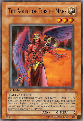 agent of force, mars, yu-gi-oh card, anime, game