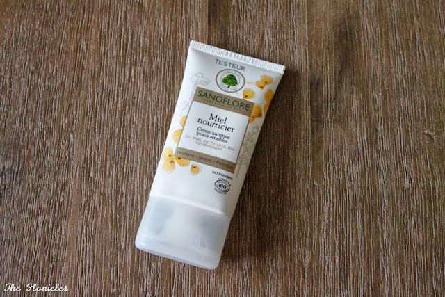 Sanoflore Miel nourricier, crème nutritive peaux sensibles