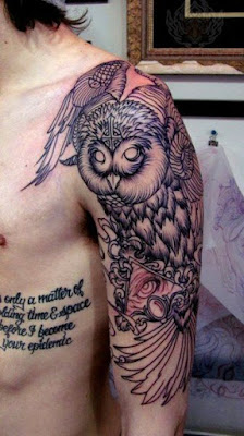 Cute Owl Tattoo Designs |  Meanings | Styles  Life