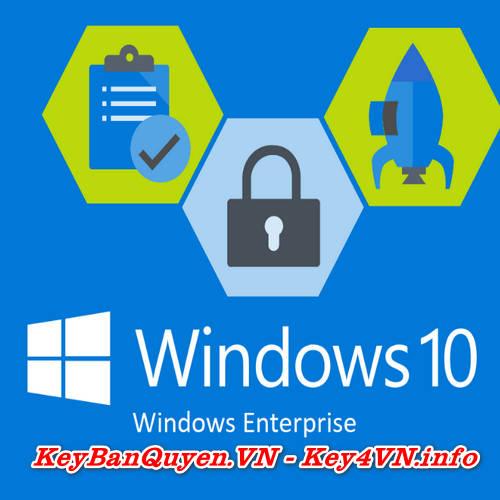 Mua bán key Windows 10 Enterprise bản quyền Full.