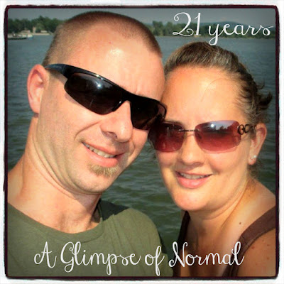 Happy 21st Anniversary!!!  Check out more at A Glimpse of Normal.