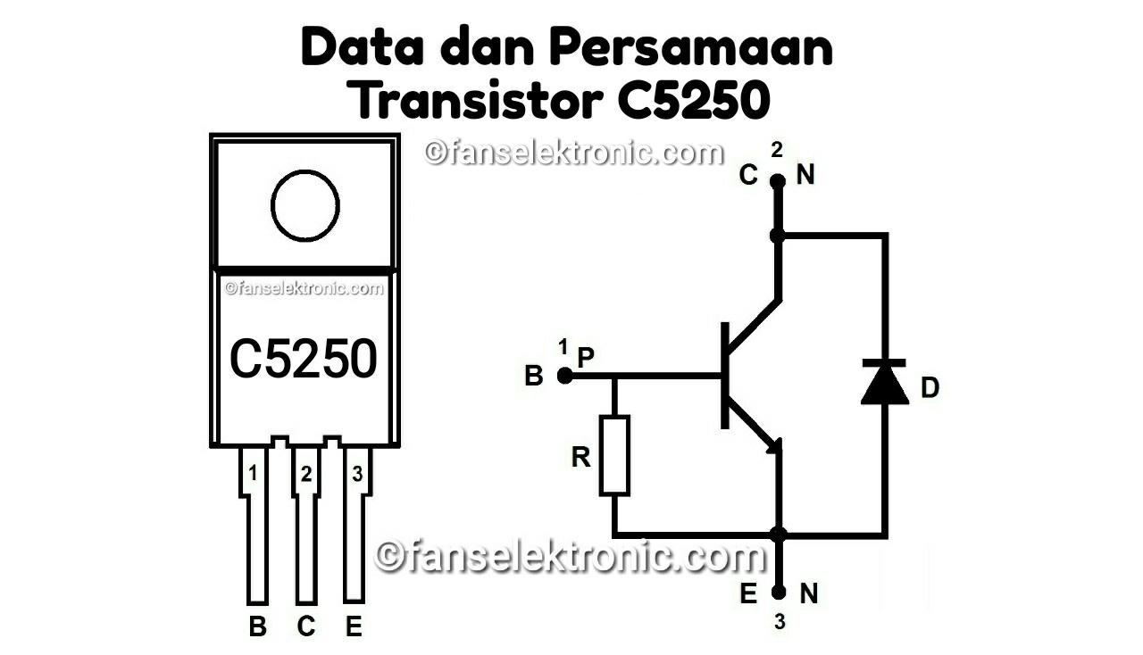Persamaan Transistor C5250