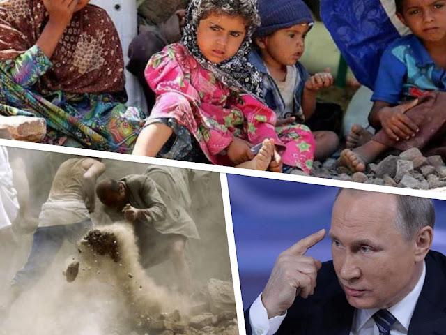 Kutip Surah Al-Imran, Putin Minta Hentikan Perang Saudara di Yaman