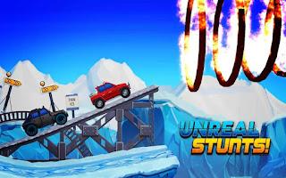 Arctic roads: car racing game v1.0