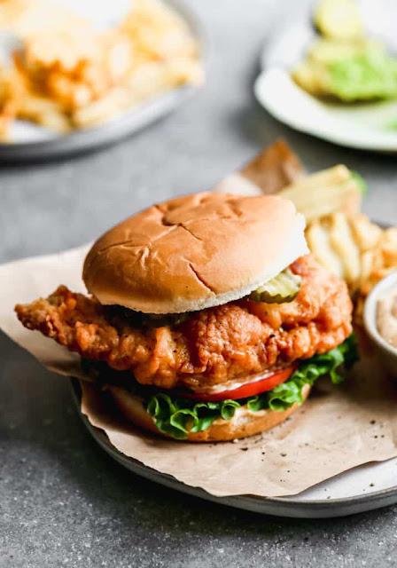 Copycat Chick-Fil-A Crispy Chicken Sandwich