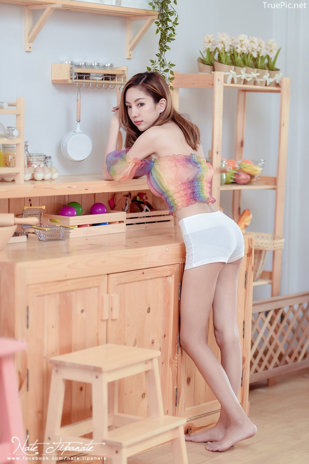 Thailand Model - Watcharaporn Wichithum - Seven Colors Rainbow - TruePic.net - Picture 1