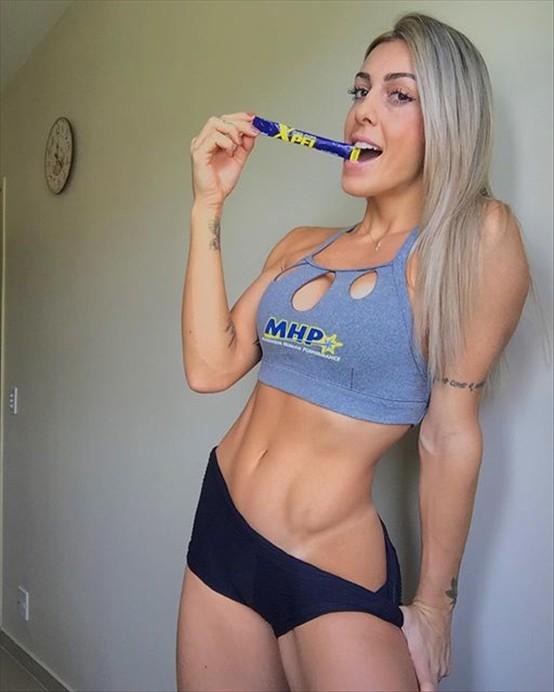 Fitness Model Rafaela Pirola Instagram