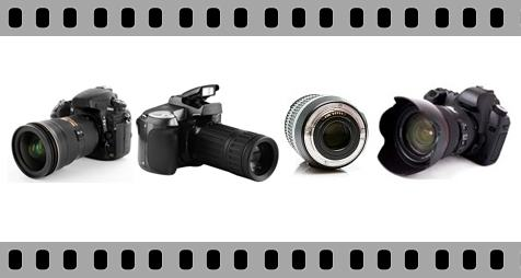 Gambar jenis ukuran lensa kamera DSLR