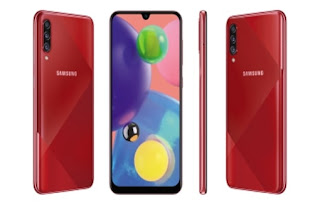 Samsung Galaxy A70s Design and Hardware