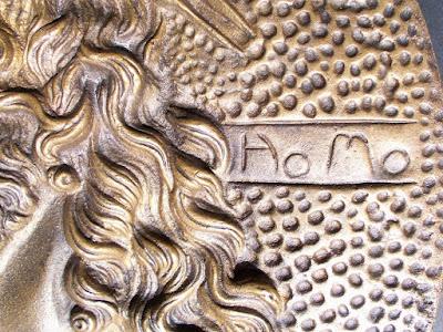 Bassorilievo art nouveau - arte - scultura - annunci