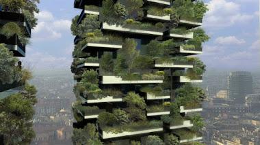 Un bosque vertical en Milán